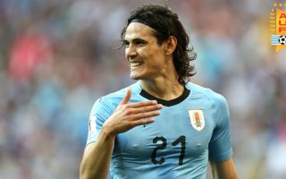 Edinson Cavani Uruguay Wallpaper HD With Resolution 1920X1080 pixel. You can make this wallpaper for your Mac or Windows Desktop Background, iPhone, Android or Tablet and another Smartphone device for free
