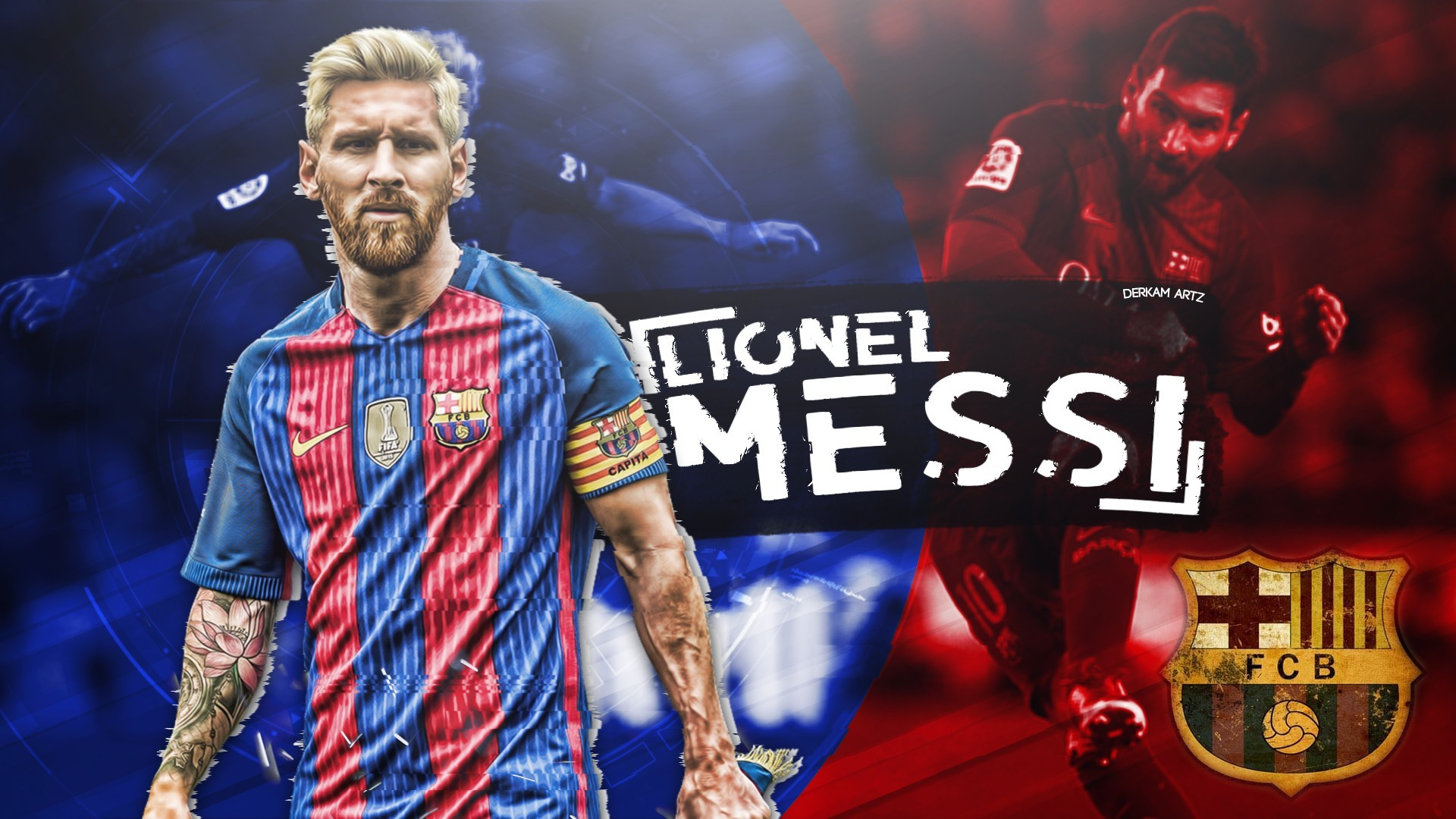 Messi Desktop Wallpapers with resolution 1920x1080 pixel. You can make this wallpaper for your Mac or Windows Desktop Background, iPhone, Android or Tablet and another Smartphone device