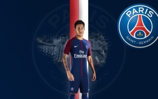 Neymar Paris Saint-Germain Desktop Wallpapers With Resolution 1920X1080 pixel. You can make this wallpaper for your Mac or Windows Desktop Background, iPhone, Android or Tablet and another Smartphone device for free