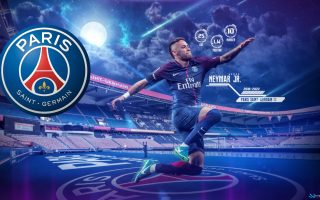 Wallpaper Desktop Neymar PSG HD With Resolution 1920X1080 pixel. You can make this wallpaper for your Mac or Windows Desktop Background, iPhone, Android or Tablet and another Smartphone device for free