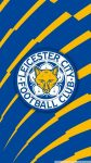 Leicester City Logo HD Wallpaper For iPhone